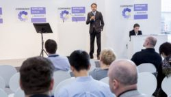 Foto: Vortrag des COMPAMED SUPPLIERS FORUM