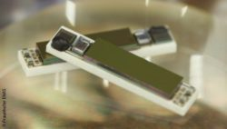 Bild: Theranostische Implantate; Copyright: Fraunhofer ENAS