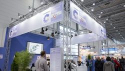 Bild: Stand des COMPAMED HIGH-TECH FORUMS auf der COMPAMED